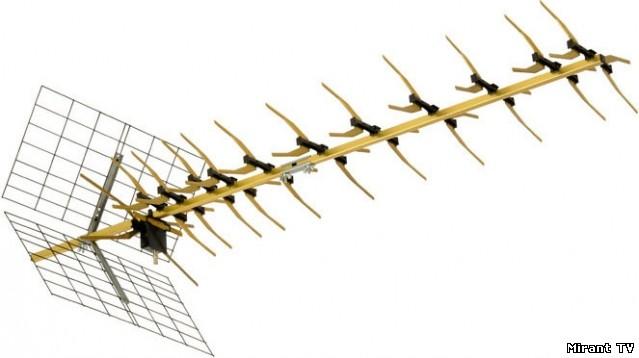 Funke abm 4551 наружная антенна с усилителем